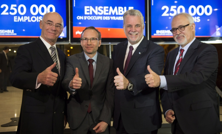 Couillard, Daoust, Coiteux and Leitao