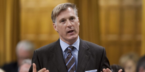 Conservative MP Maxime Bernier rises during Question Period in the House of Commons in Ottawa, Thursday June 7, 2012. THE CANADIAN PRESS IMAGES/Adrian Wyld