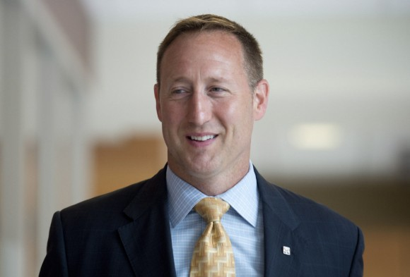Justice Minister Peter MacKay arrives at a Commons Justice committee meeting Monday July 7, 2014 in Ottawa. THE CANADIAN PRESS/Adrian Wyld