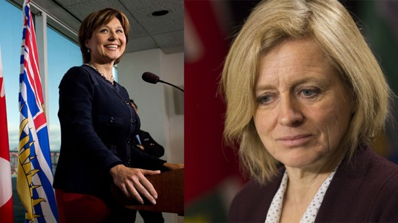 B.C.'s Clark and Alberta's Notley both need pipelines to generate economic growth and political capital.