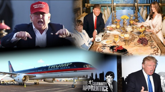 The many dimensions of Trump from reality TV personality, to entrepreneur and family man. - Unrau