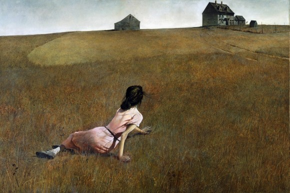 Christina's World by Andrew Wyeth: 'Authentic conservatism.' (Image: theimaginativeconservative.org)