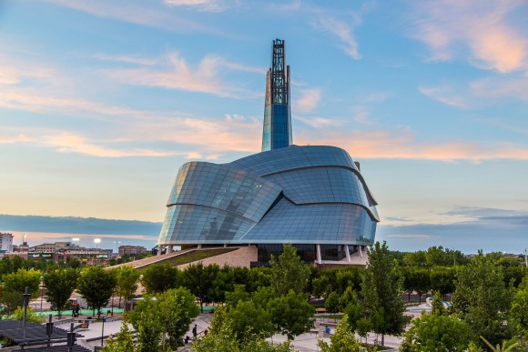 The Canadian Museum of Human Rights in Winnipeg. (Photo by CNW Group)