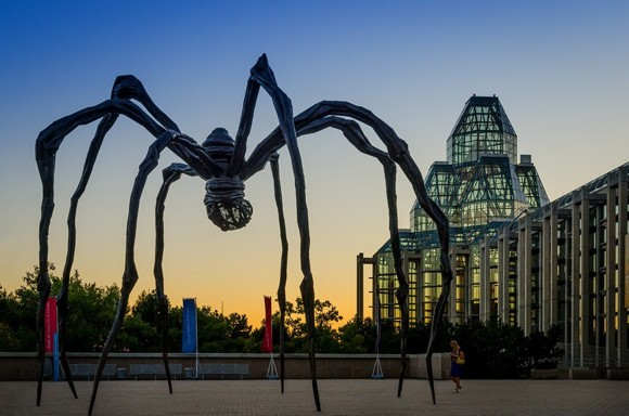 Maman by Louise Bourgeois at the National Gallery of Canada. (Photo by Robert Linsdell)