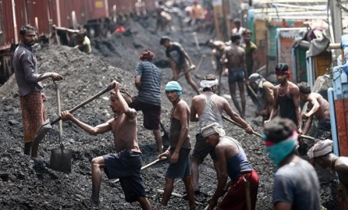 Coal-fired power and pollution are proliferating in India.