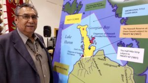 Saugeen First Nation Chief Vernon Roote, Bruce Peninsula Lawsuit