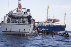 Sea-Watch, Lybian refugees, anti-immigration