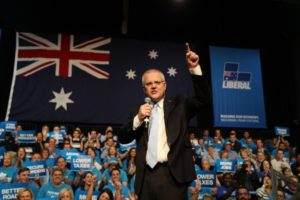 Scott Morrison, Liberal Party, anti-immigration, low taxes, politics