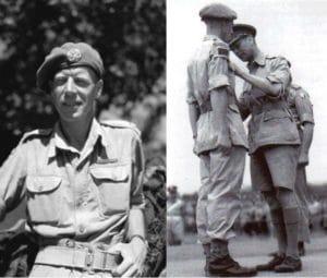 Majo Jack Mahony, Royal westminster Regiment, Italian Campaign
