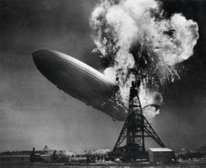 Hindenburg airships