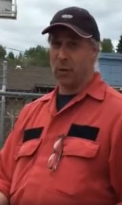 Peter Laing, B.C. Wildfire Service, Francois Lake Fire