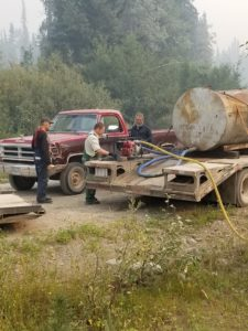 Wolfram Hummel, Wolf Pack, Francois Lake Fire
