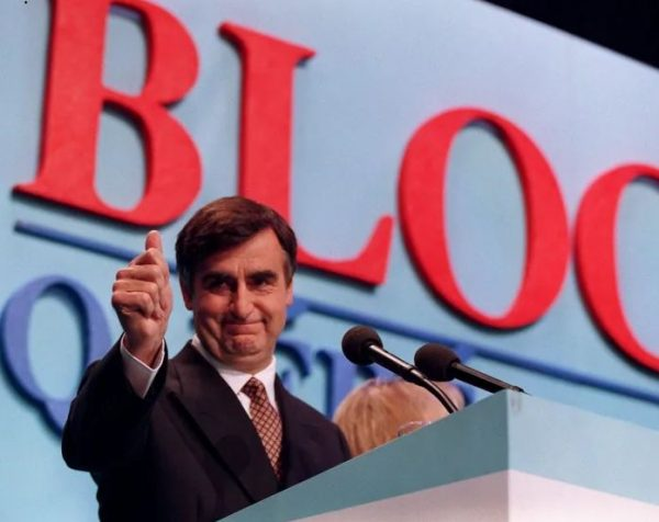 Former Bloc leader Lucien Bouchard. Should we forget about Wexit and insted become the bloc?