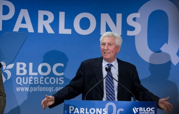 A Bloc West template instead of Wexit? Former BQ Leader Gilles Duceppe.