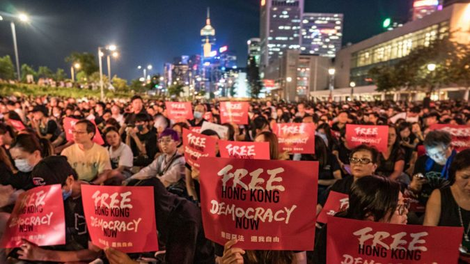 Freedom protestors in Hong Kong calling for democracy are another way Canada could stand up and push back in the Canada-China relationship.