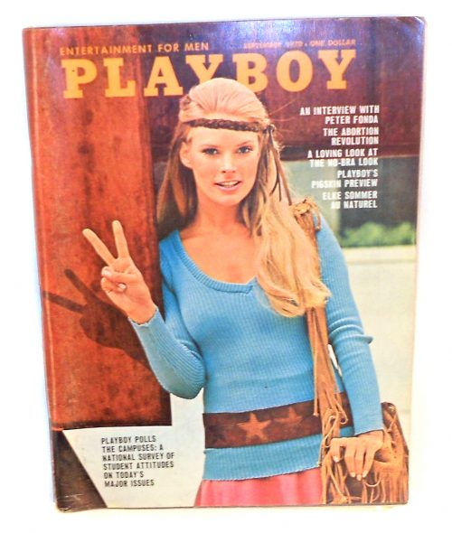 Cover of Playboy magazine is from an era of porn that is world apart from the digital era wrought with human trafficking.