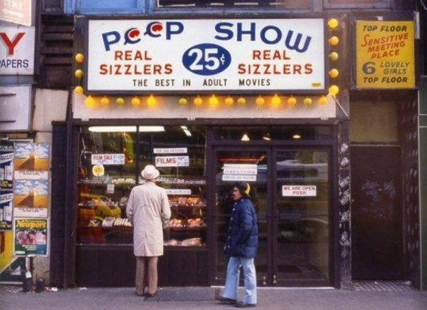 Peep shows are another relic of the pre-internet porn era.