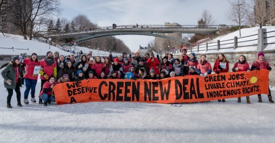 The new dictators: Young Canadian climate activists participating in Powershift (below) and (above) pro-vegan protesters. No mere pandemic will stop them.
