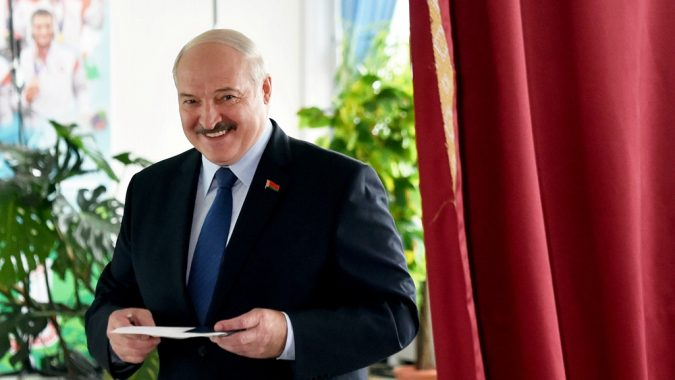 Belarusian President Alexander Lukashenko, whose government response largely rejected