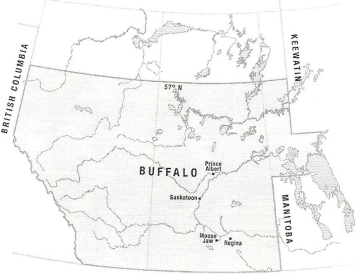 Parts of Red Canada could have been more powerful if the province of Buffalo had been formed.