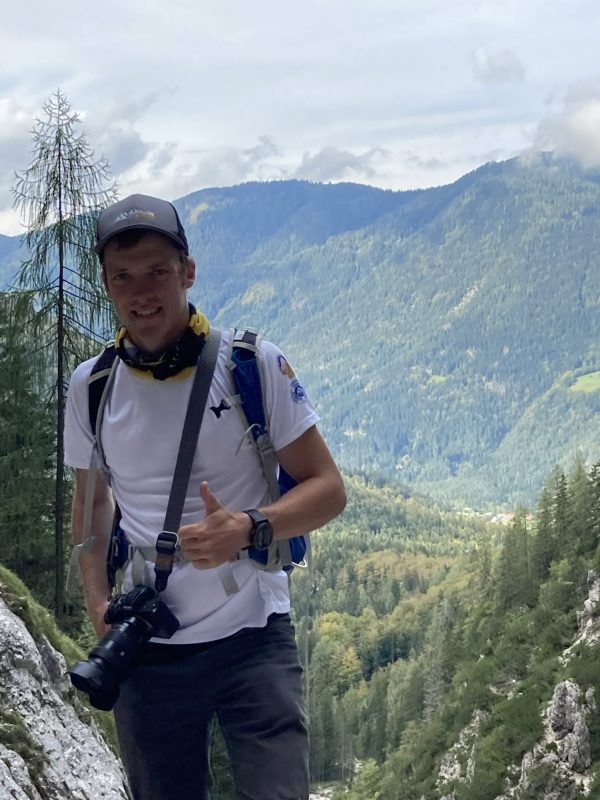 With the weather ruling out ascending Mount Triglav, mountain guide extraordinaire Mat found plenty of cliffs and canyons to challenge his Canadian clients.