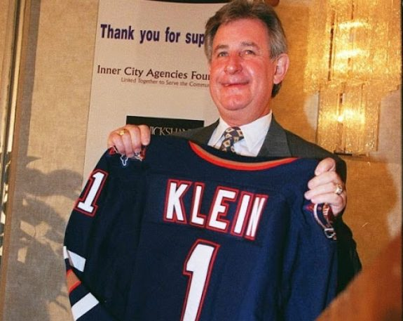 Picture of former Alberta Premier Ralph Klein who paid the province's massive debt back in full.