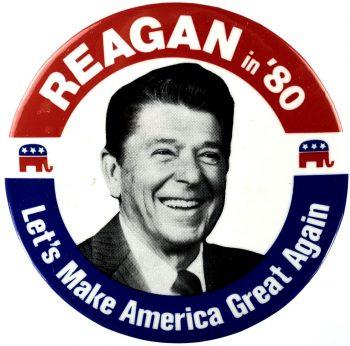 Reagan's presidential campaign motto in 1980 was