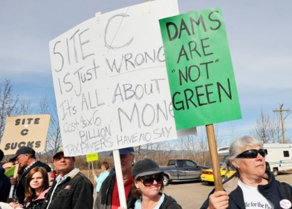 The Economics of Green Energy by C2C Journal - Protest by environmentalists