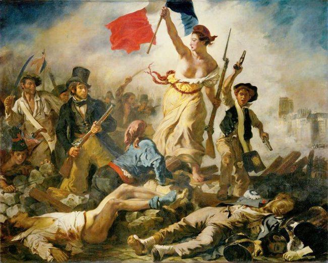 Burke bemoans the French Revolution: