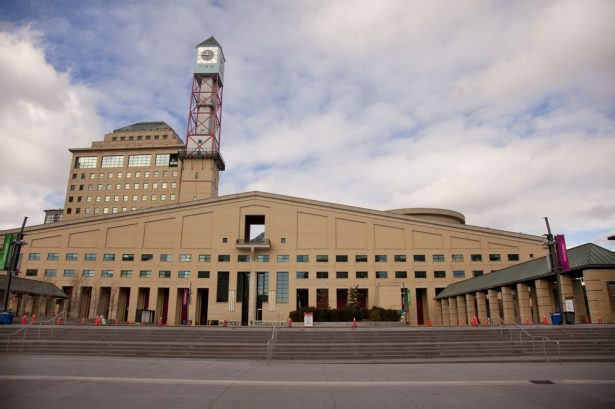 Picture of modern architecture inspired Mississauga Civic Centre