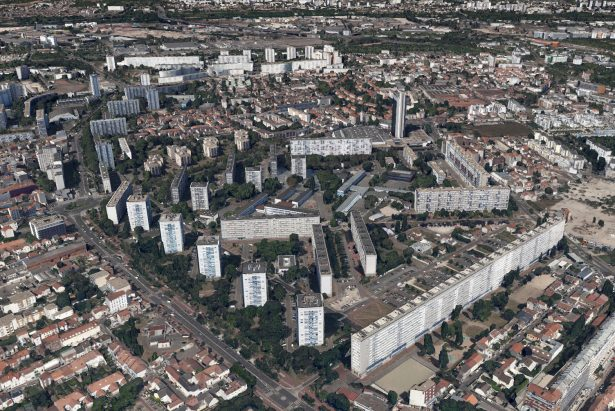 Picture of banlieues of Paris, an unfortunate casualty of modern architecture