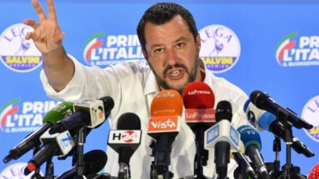 Matteo Salvini, ring wing politics