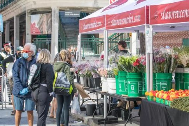 Food market operations are now subject to the powers of public health officials? Government overreach