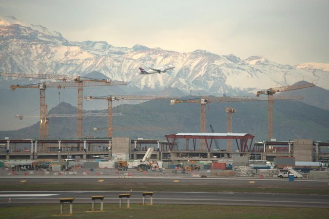 Bankruptcy is not as much of a possibility for privatized airports, such as the one pictured here in Chile