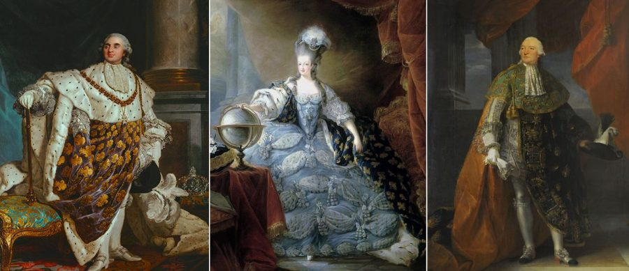 Portraits of France's privileged who also fell prey to the Frenfch Revolution's Reign of Terror are displayed.