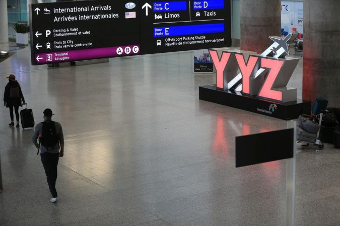 Airports became deserted as air travel was reduced to a standstill amid the pandemic induced lockdown.